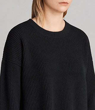 Womens Sura Sweater (Black) - Image 2