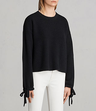 Womens Sura Sweater (Black) - Image 3