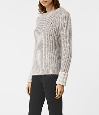Womens Egler Sweater (Pastel Grey) - product_image_alt_text_3