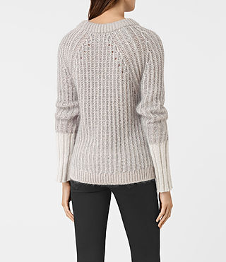 Womens Egler Sweater (Pastel Grey) - product_image_alt_text_4