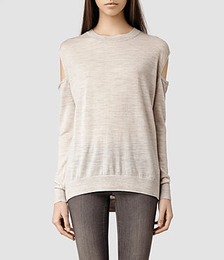 Womens Elion Sweater (Mist Marl)