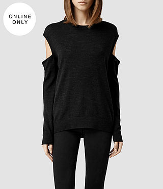 Womens Elion Sweater (Cinder Marl)