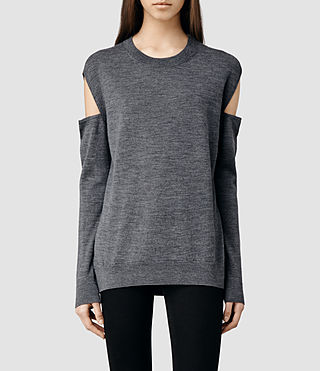 Womens Elion Sweater (Charcoal)