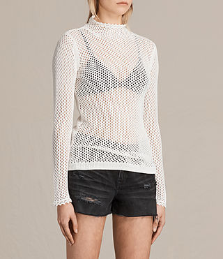 Women's Avril Top (CLOUD WHITE) - product_image_alt_text_2