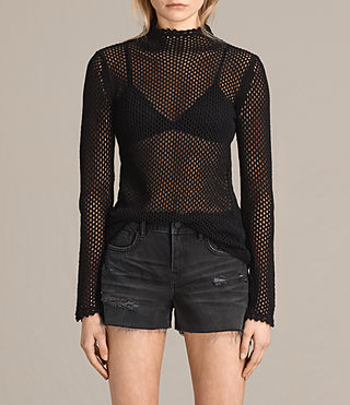 Womens Avril Top (Black)