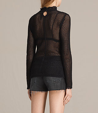 Womens Avril Top (Black) - product_image_alt_text_3