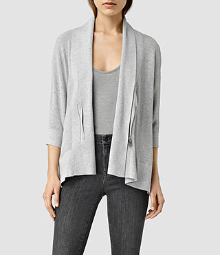 Womens Ali Cardigan (MIRAGE GREY)