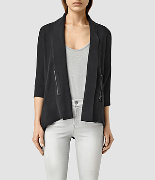 Womens Ali Cardigan (Black)