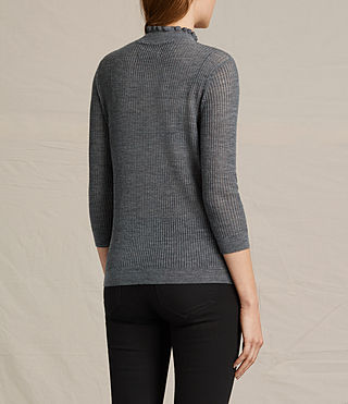 Womens Haze Sweater (Charcoal Grey) - product_image_alt_text_4