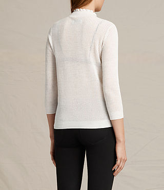 Womens Haze Sweater (ECRU WHITE) - product_image_alt_text_4