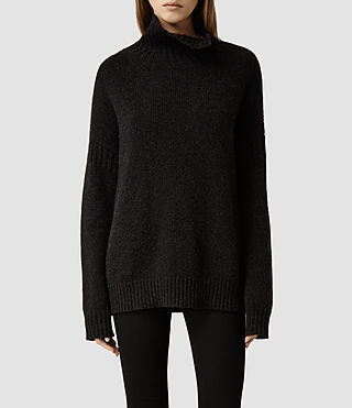 Womens Janzcro Sweater (Cinder Marl)
