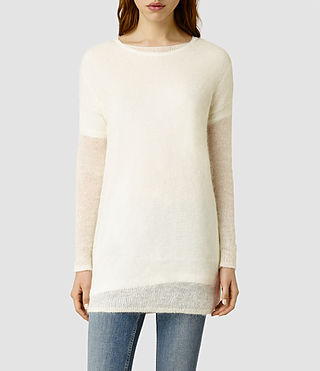 Womens Plume Sweater (Chalk)