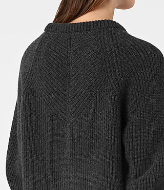 Womens Patty Sweater (Cinder Black Marl) - product_image_alt_text_2