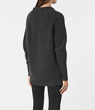 Womens Patty Sweater (Cinder Black Marl) - product_image_alt_text_5