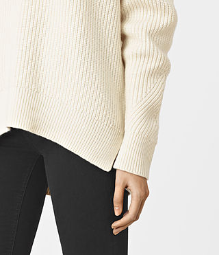 Womens Patty Sweater (Chalk White) - product_image_alt_text_2
