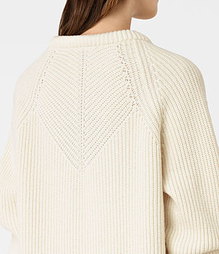 Womens Patty Sweater (Chalk White) - product_image_alt_text_4