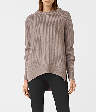 Womens Patty Sweater (LUNAR GREY) - product_image_alt_text_1