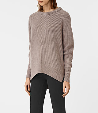 Womens Patty Sweater (LUNAR GREY) - product_image_alt_text_3