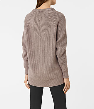 Womens Patty Sweater (LUNAR GREY) - product_image_alt_text_4