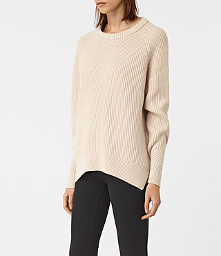 Womens Patty Sweater (QUARTZ PINK MARL) - product_image_alt_text_3