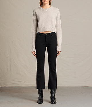 Womens Haisey Sweater (Oat marl)