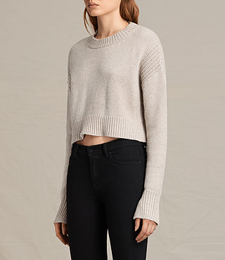 Donne Pullover Haisey (Oat marl) - product_image_alt_text_2
