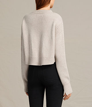Donne Pullover Haisey (Oat marl) - product_image_alt_text_5