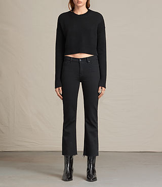 Womens Haisey Sweater (Black) - product_image_alt_text_1