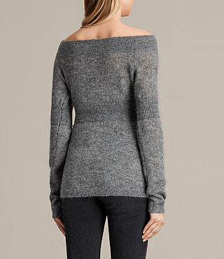 Femmes Pull Armor (Pebble Grey) - product_image_alt_text_3