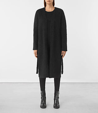Women's Dalton Cardigan (Black)