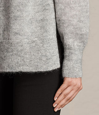 Womens Veny Jumper (Light Grey Marl) - product_image_alt_text_2