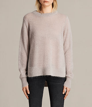 Womens Veny Sweater (Amethyst)