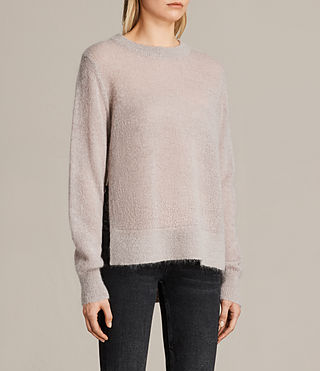 Womens Veny Sweater (Amethyst) - product_image_alt_text_2