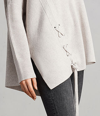Women's Able Laced Jumper (PORCELAIN WHITE) - Image 2