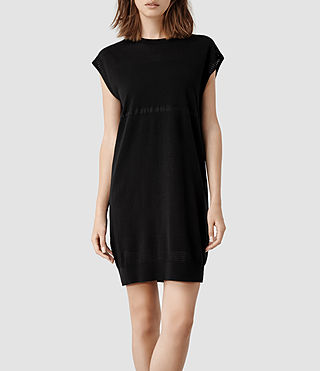Womens Filament Dress (Black)