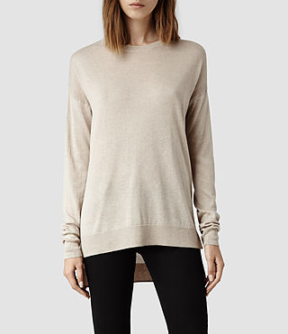 Womens Beck Sweater (Nude)