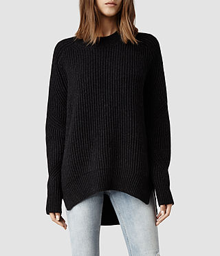 Womens Quinta Sweater (Cinder Marl)