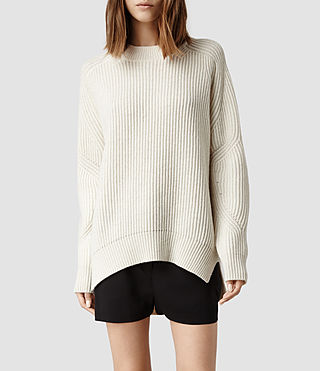Womens Quinta Sweater (Chalk)