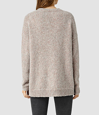 Women's Shine Jumper (GreyCopper) - product_image_alt_text_3
