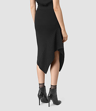 Damen Keld Merino Skirt (Black) - product_image_alt_text_4