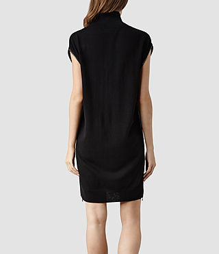 Womens Kaninda Sweater Dress (Black) - product_image_alt_text_3