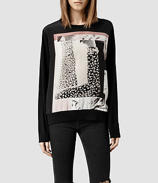 Womens Paradiso Sweater (Black)
