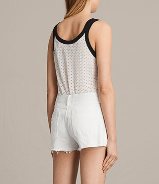 Women's Covey Vest (CHALK WHT/INK BLUE) - product_image_alt_text_3