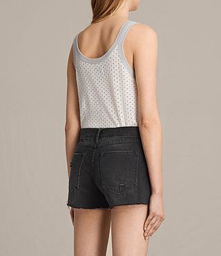 Damen Covey Vest (CHALK WHITE/GREY) - Image 3