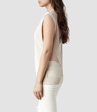 Womens Aiva Top (Mist Marl)
