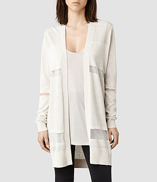 Womens Filament Cardigan (Mist Marl)