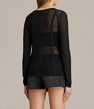 Donne Springs Crew Jumper (Black) - product_image_alt_text_3