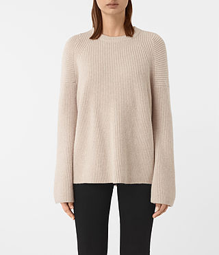 Women's Jago Crew Neck Jumper (Quartz) -