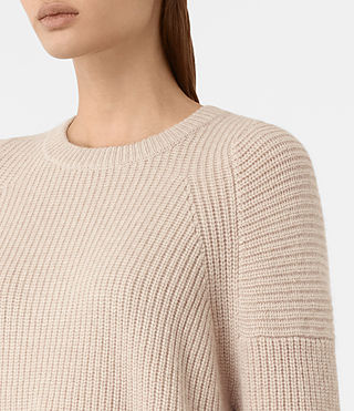 Women's Jago Crew Neck Jumper (Quartz) - product_image_alt_text_2