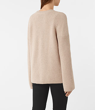 Women's Jago Crew Neck Jumper (Quartz) - product_image_alt_text_4